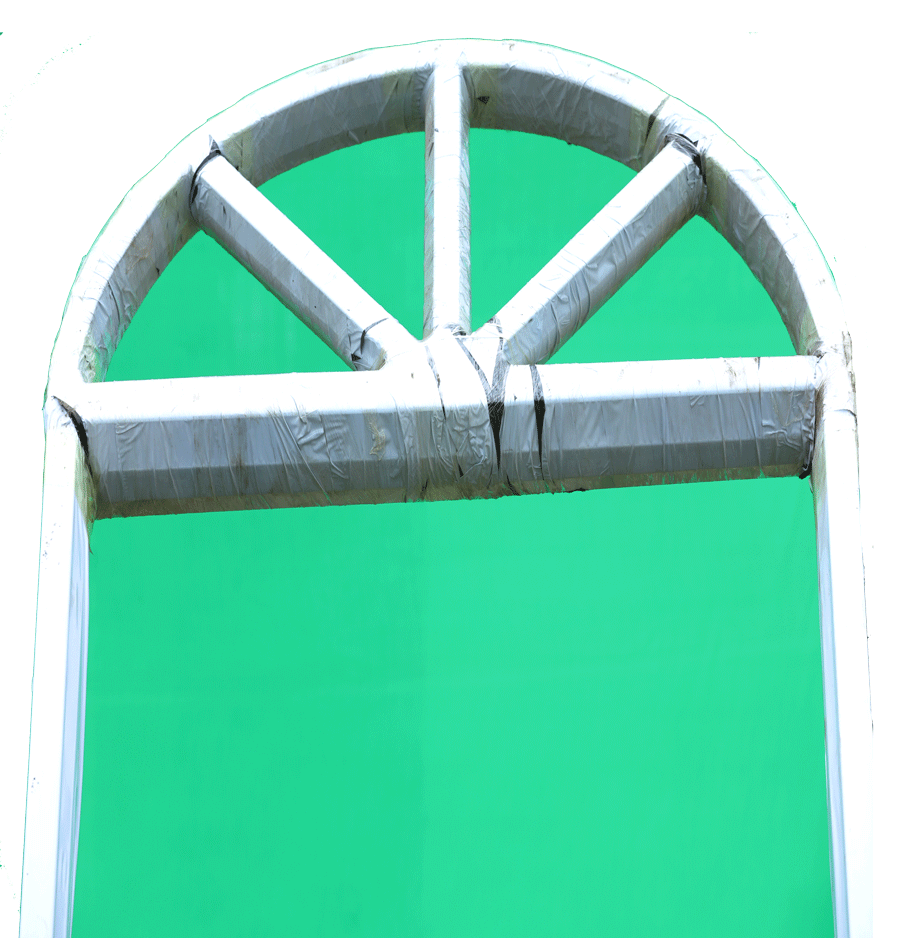 Metal Door Frame With Arch